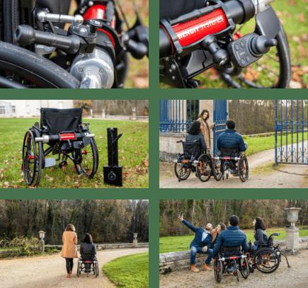 Les motorisations Benoit Systemes pour fauteuil roulant